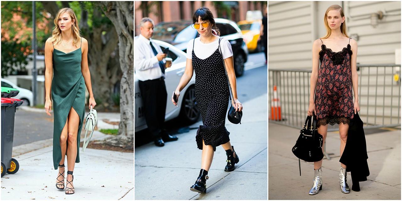 Νιώστε όπως μία street style star με αυτά τα slip dresses - GLOW.GR f3e85e74477