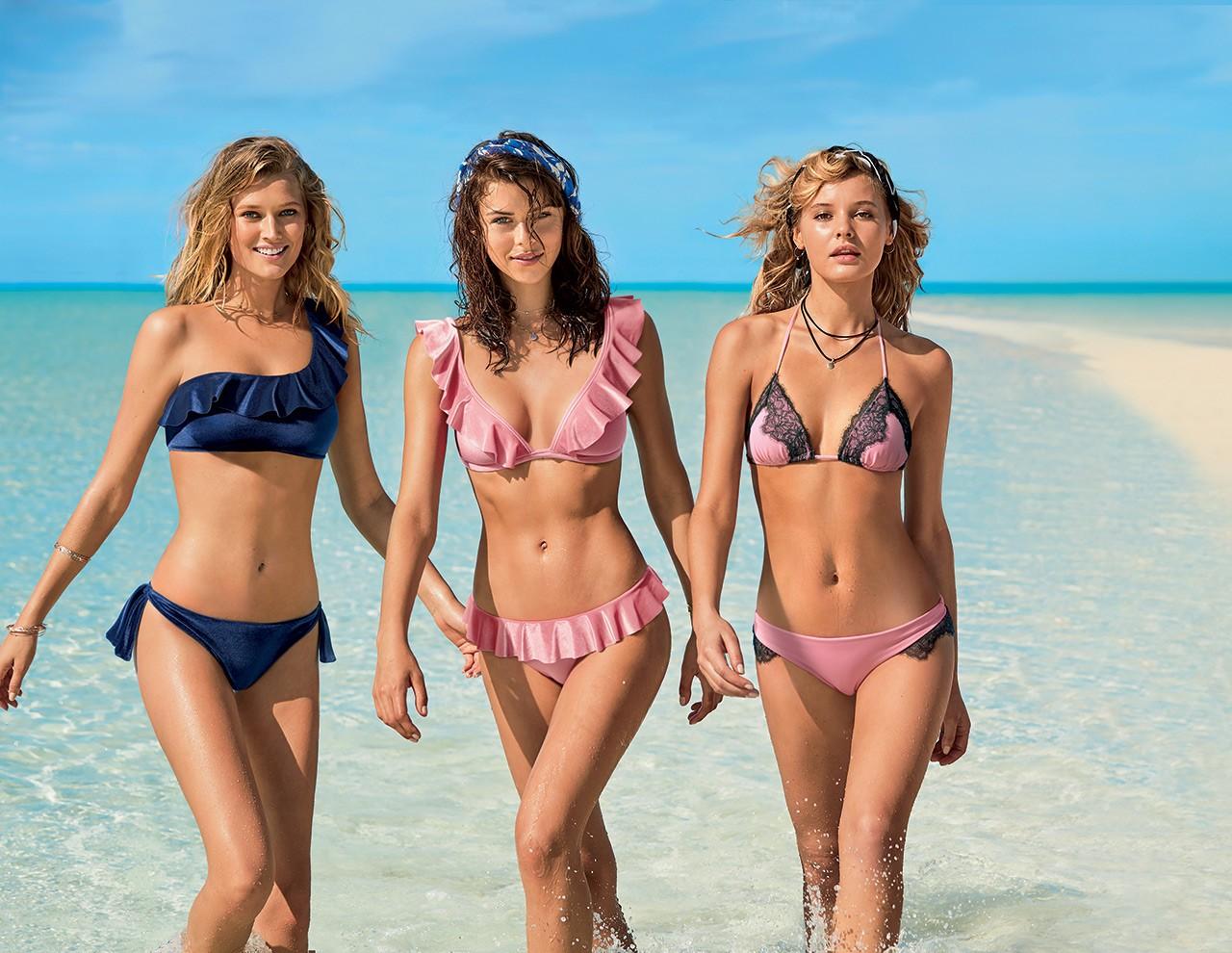 b7bae50f873 Θυμηθείτε, πως όσο πιο λίγο ύφασμα έχει το κάτω μέρος, τόσο πιο γεμάτο θα  φαίνεται. Αν είστε φαν των bikinis, τότε αγοράστε κάτι με κορδόνια στο κάτω  μέρος, ...
