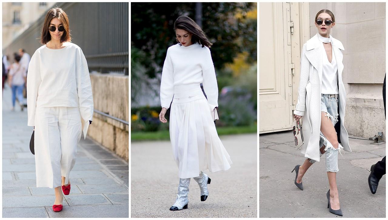 1ef0a2066ce4 Πώς θα φορέσετε το λευκό χρώμα και τo φθινόπωρο - GLOW.GR