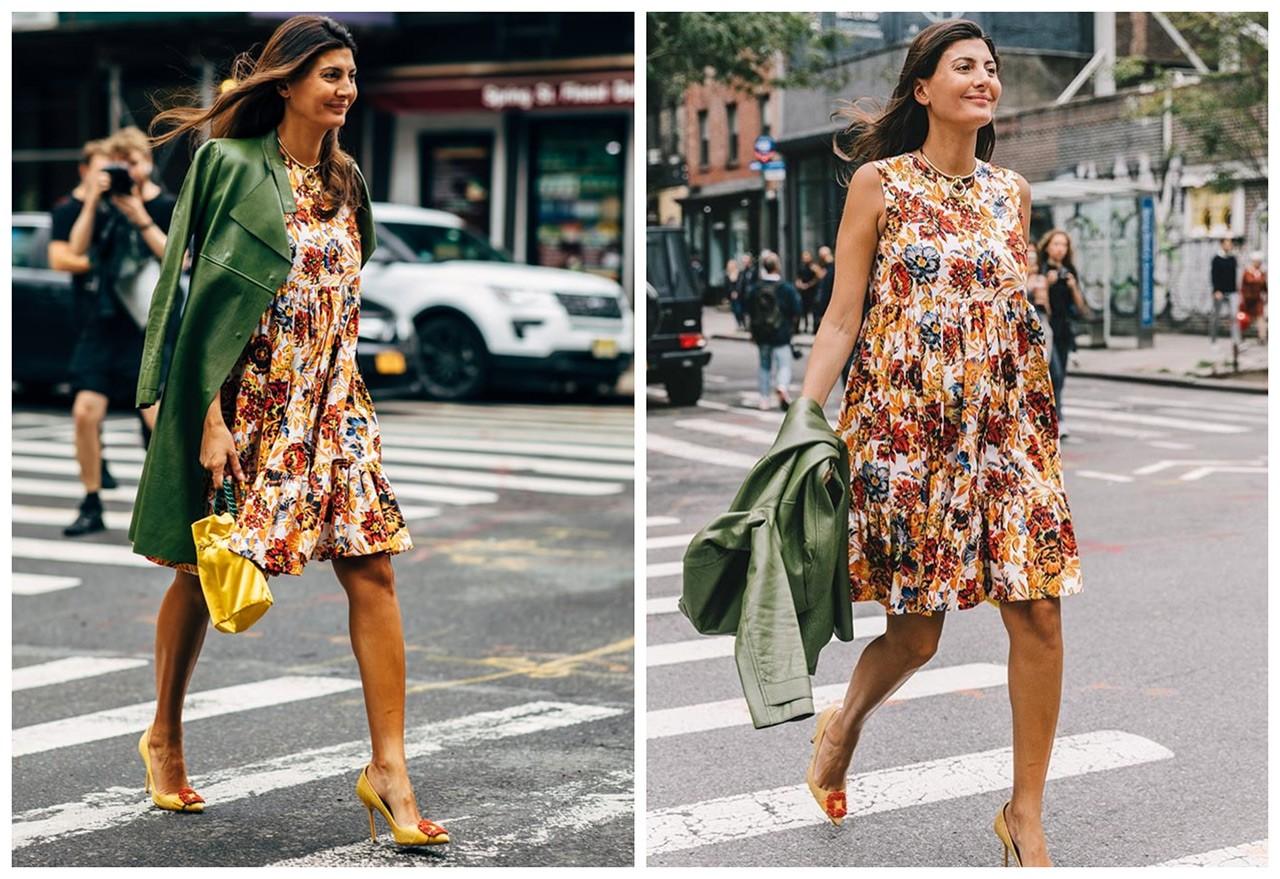 19ce5affa2 Giovanna Battaglia  Pregnancy στιλιστικά μαθήματα από το fashion ...