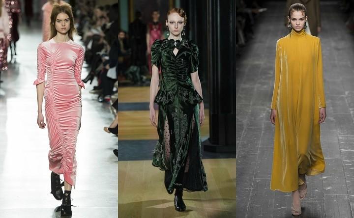 The velvet trend  Πώς θα φορέσετε το πιο chic ύφασμα της σεζόν ... a3cc0467881