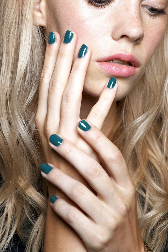 le-fashion-blog-teal-nail-polish-manicure-backstage-beauty-karen-walker-ss-2015.jpg
