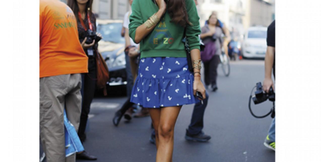 Τhe fashion lady
