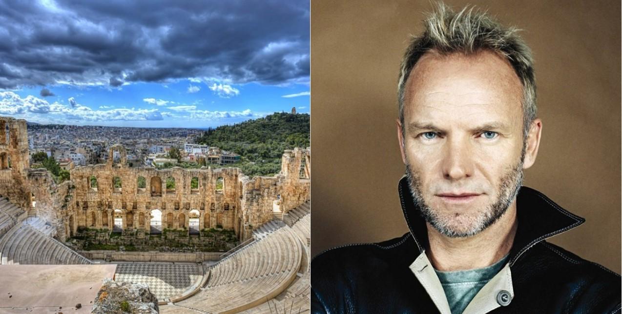 Με Sting στο Ηρώδειο έρχεται το Φεστιβάλ Αθηνών & Επιδαύρου 2018