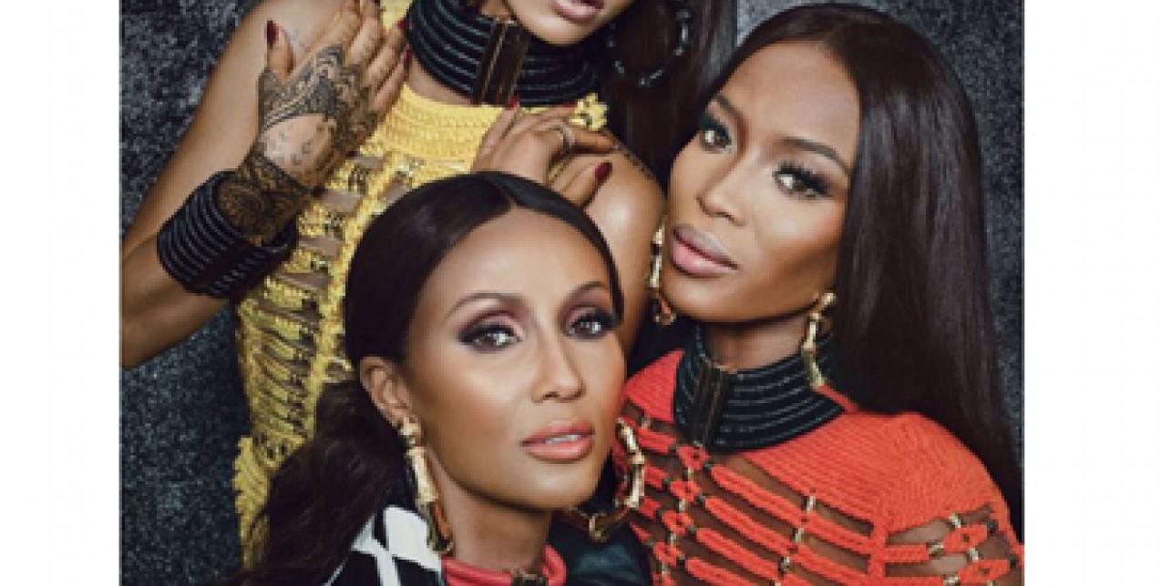 Rihanna & Naomi & Iman