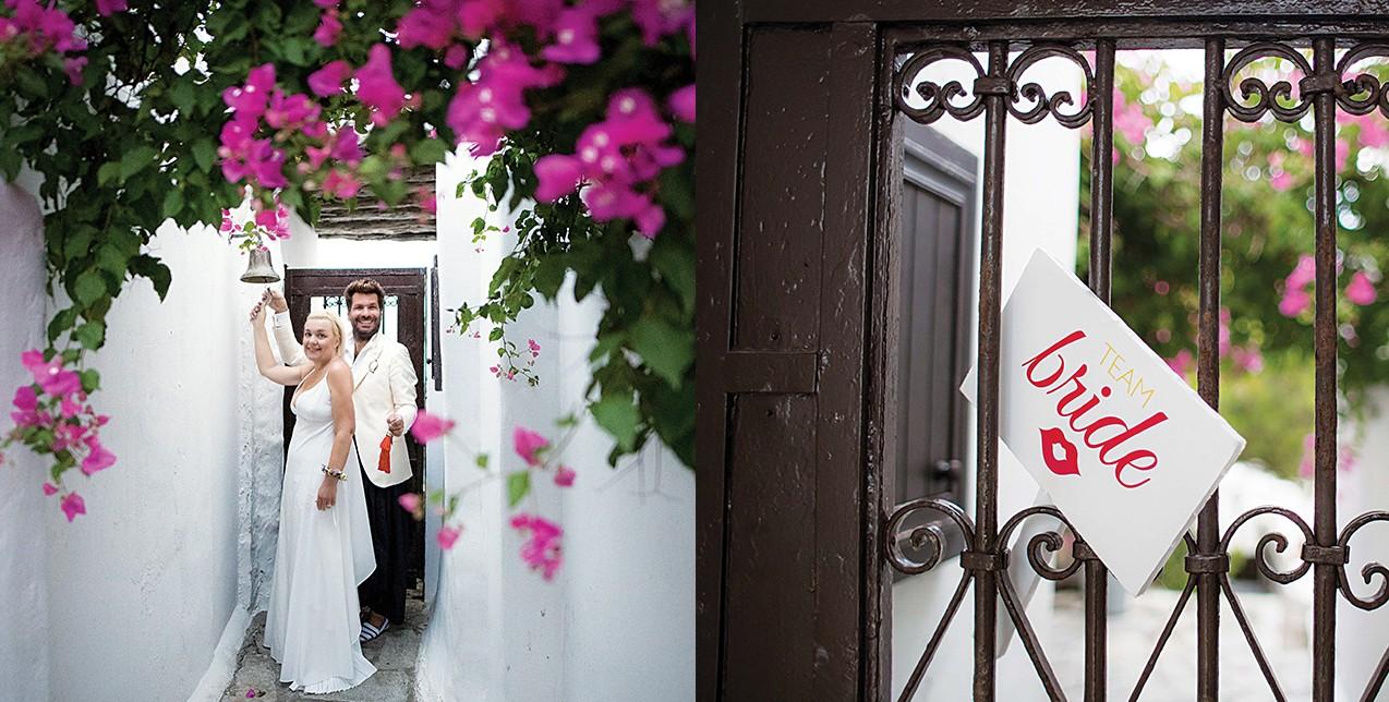 Οι Γεώργιος Καράμπελας και Μαρίνα Κουταρέλλη γιόρτασαν 15 χρόνια γάμου