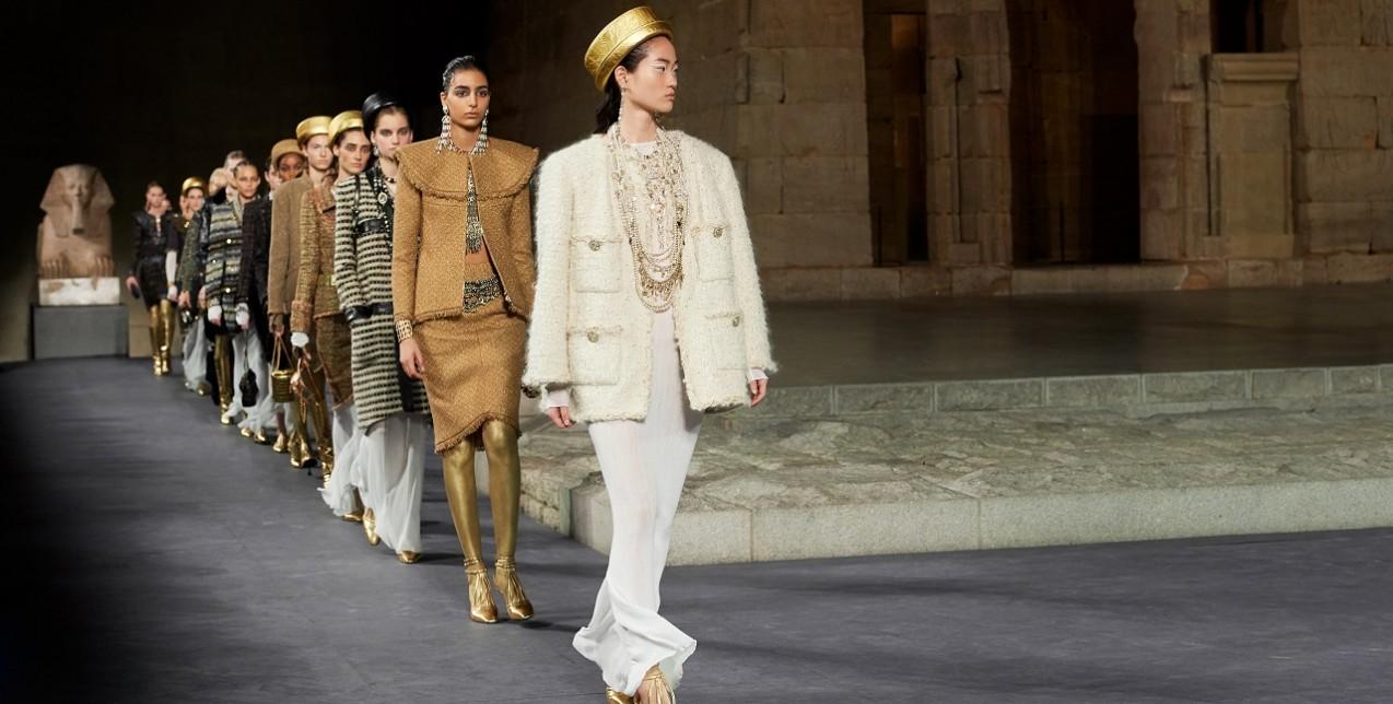 Metiers d'Art fashion show: Ο οίκος Chanel μας ταξίδεψε στην αρχαία Αίγυπτο