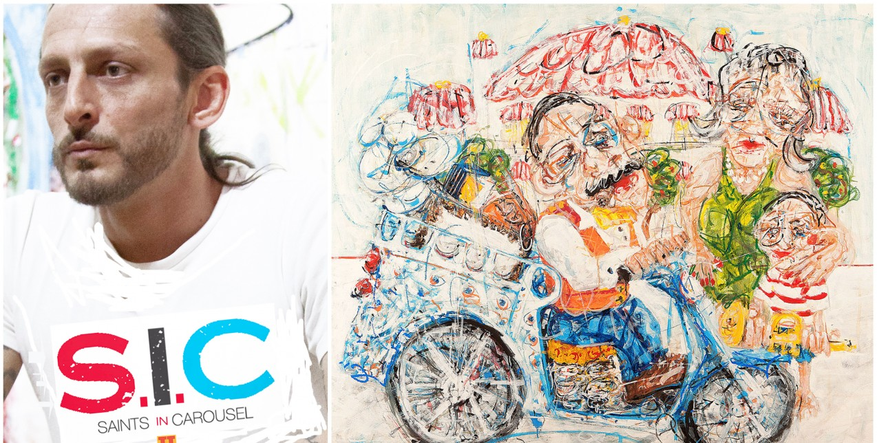 5 λεπτά με τον καλλιτέχνη των κινούμενων πορτραίτων Θωμά Τουρναβίτη