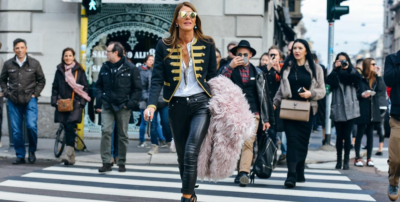 5 street style μυστικά από την Anna Dello Russo