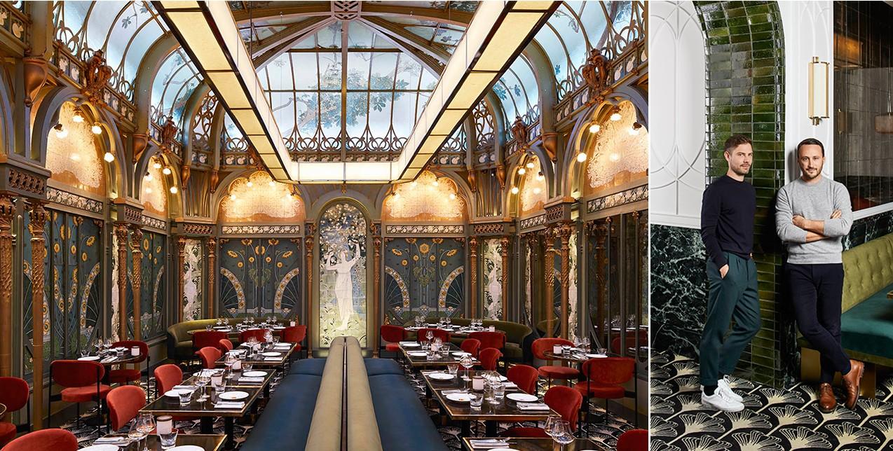To ολοκαίνουριο Beefbar στο Παρίσι στεγάζεται σε ένα υπέροχο Art Nouveau ιστορικό κτίριο