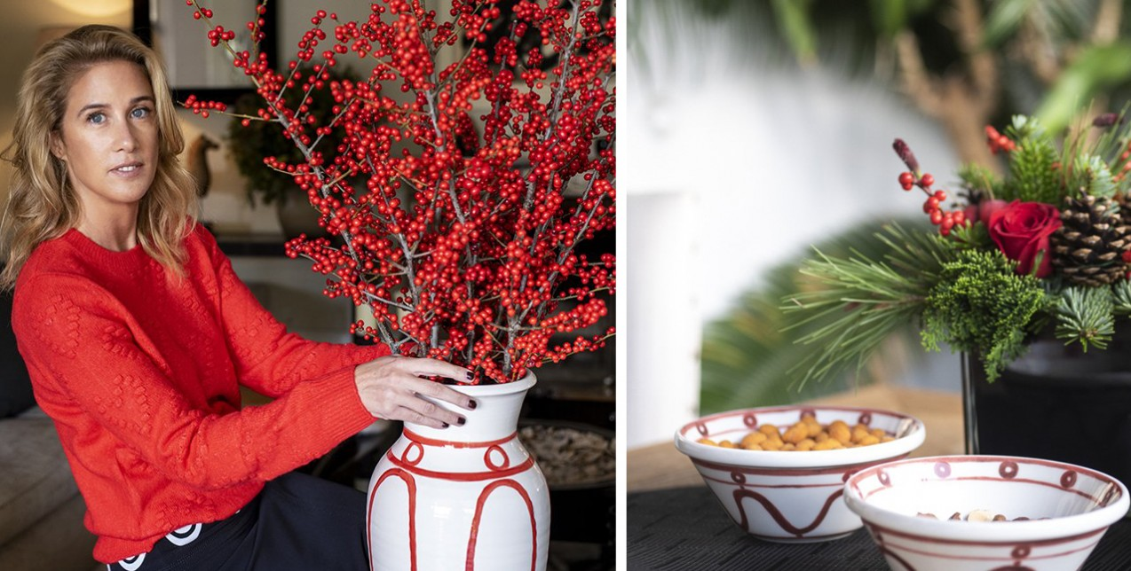 Η Θέμις Ζουγανέλη παρουσίασε τις συλλογές της στη Θεσσαλονίκη με ένα Christmas Pop Up Store