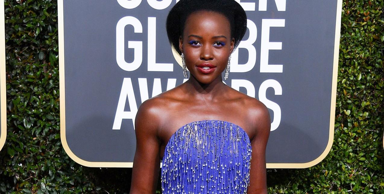 Κάντε δικά σας τα λαμπερά Golden Globes πέδιλα της Lupita Nyong'o