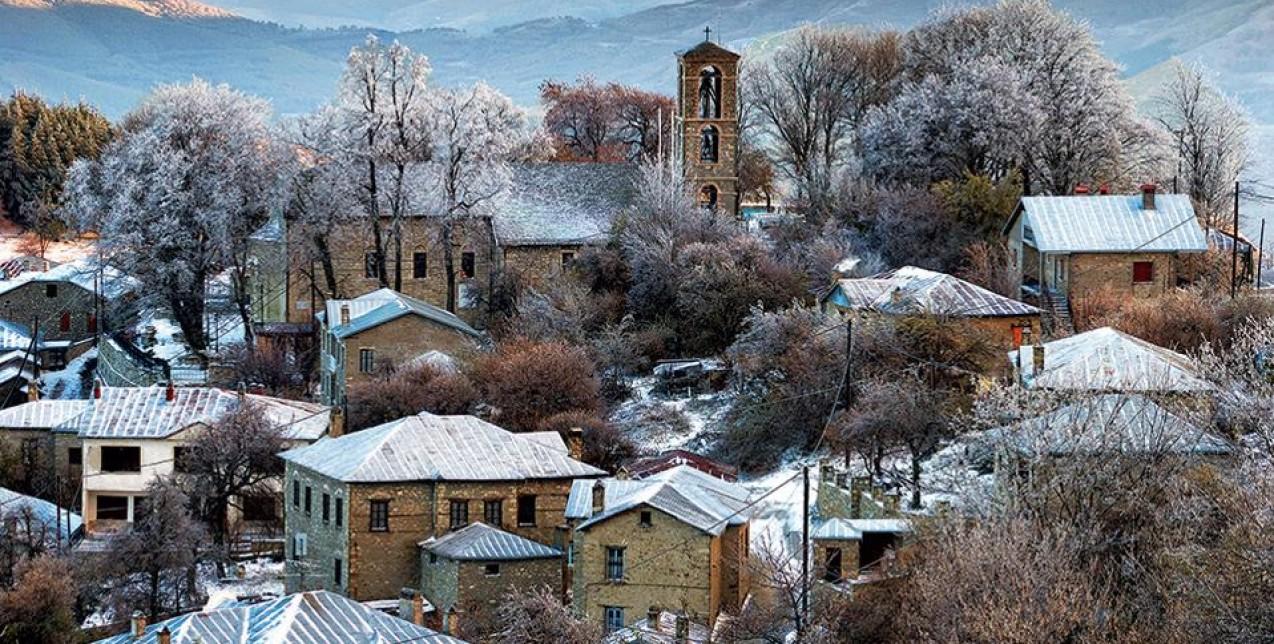 Αποδράστε στο χειμωνιάτικο Νυμφαίο και απολαύστε τη μαγεία του βουνού