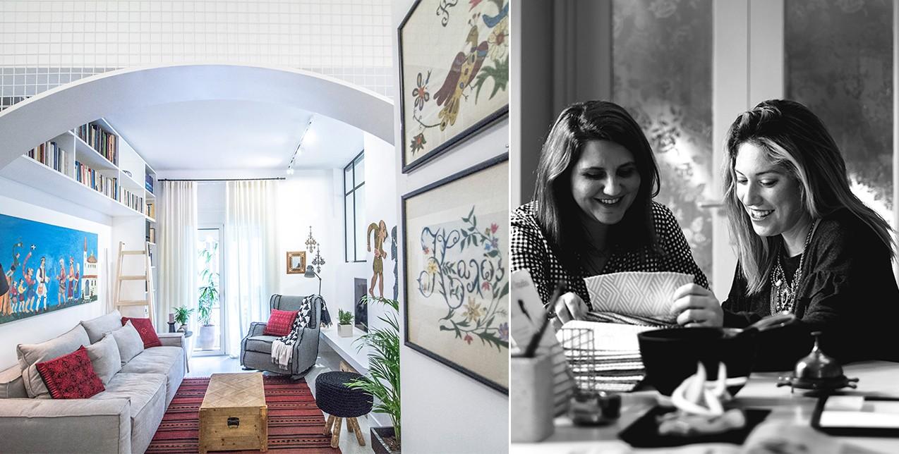 Ένα bohemian διαμέρισμα μόλις 45 τ.μ. στην Αθήνα που χωράει τα πάντα