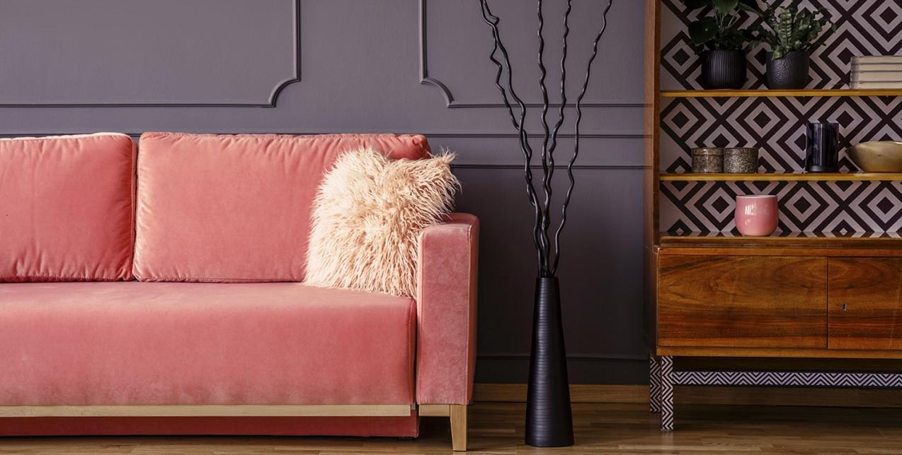 5 τρόποι για να βάλετε το χρώμα της χρονιάς στο σπίτι σας