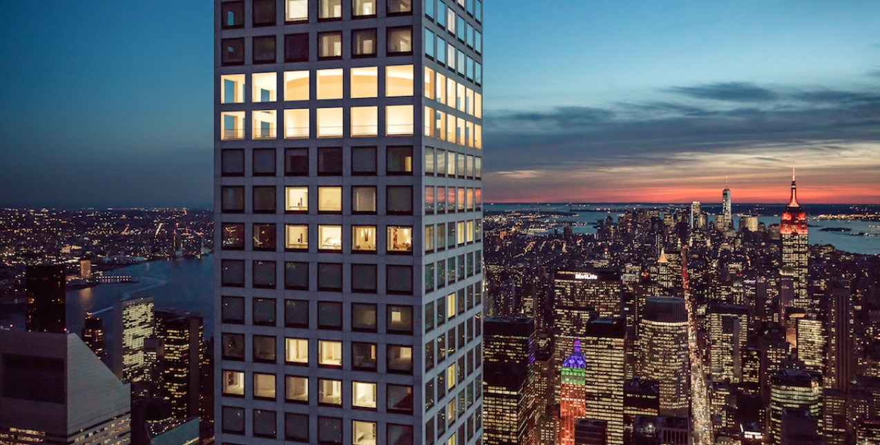 Ένα συγκλονιστικό ρετιρέ στη Νέα Υόρκη με θέα 360 μοιρών που κόβει την ανάσα