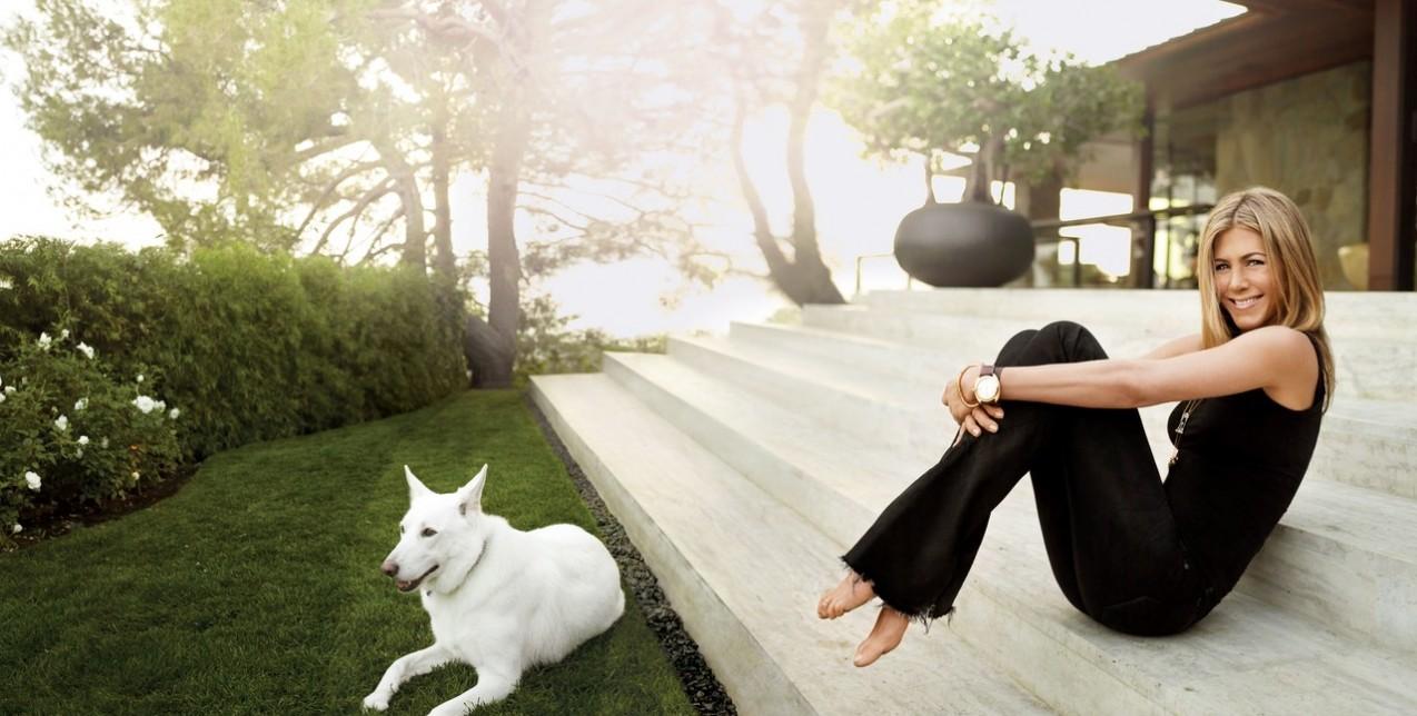 Στο υπέροχο σπίτι της Jennifer Aniston στο Beverly Hills
