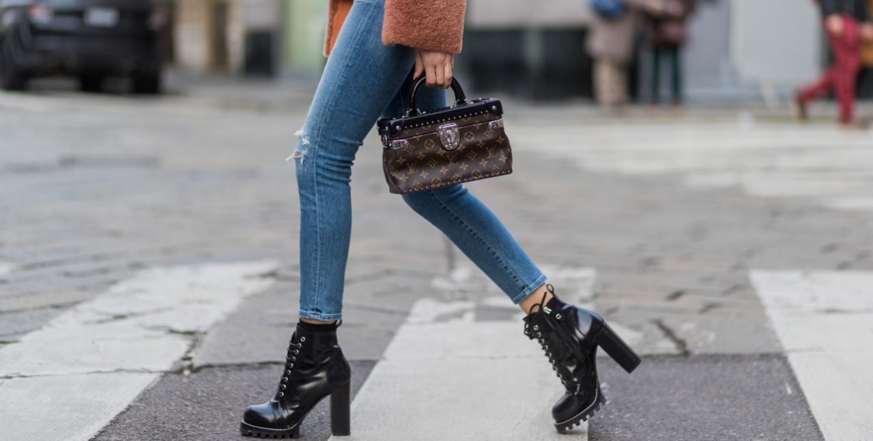 Τα σωστά παπούτσια για τα skinny jeans