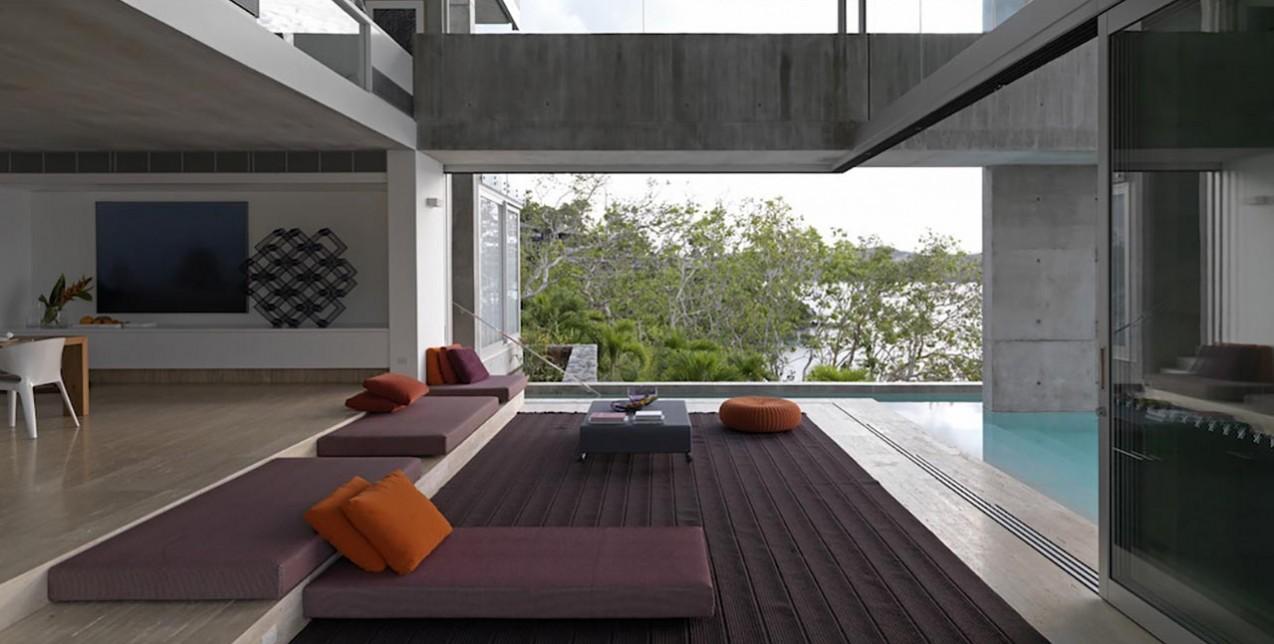H κατοικία Solis house σε ένα τροπικό νησί είναι το σπίτι των ονείρων μας