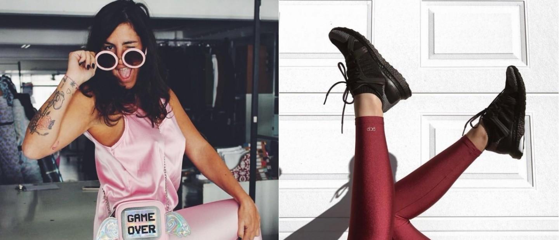 Η Πέλλα-Χριστίνα Παπαχρήστου αναλύει την αγάπη της για τα leggings