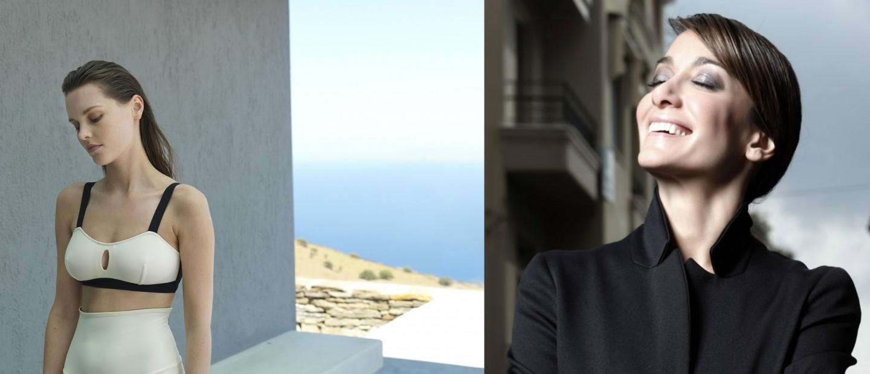 Η Ελληνίδα σχεδιάστρια Σόφη Δελούδη αποθεώνει το γυναικείο μαγιό