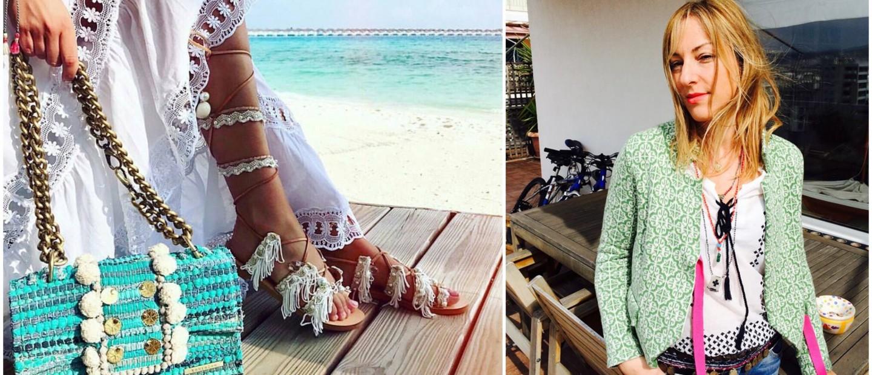 Η Λίλα Καραγιάννη μεταμορφώνει τις κουρελούδες σε όμορφες τσάντες