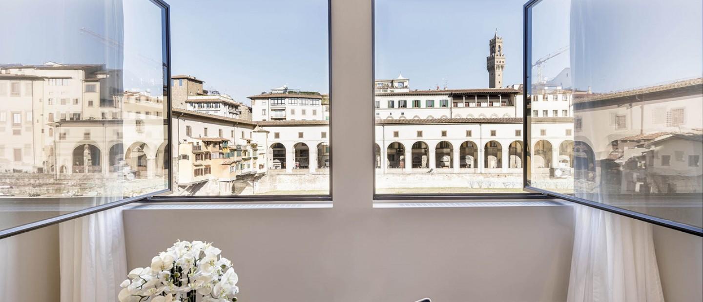 Δωμάτια με θέα στην καρδιά της Φλωρεντίας