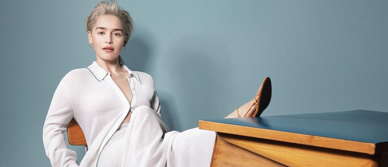 Η ηθοποιός Emilia Clarke σε μία συνέντευξη περί ομορφιάς και μακιγιάζ