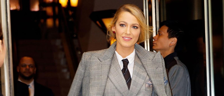 Απογειώστε το suit trend όπως η Blake Lively