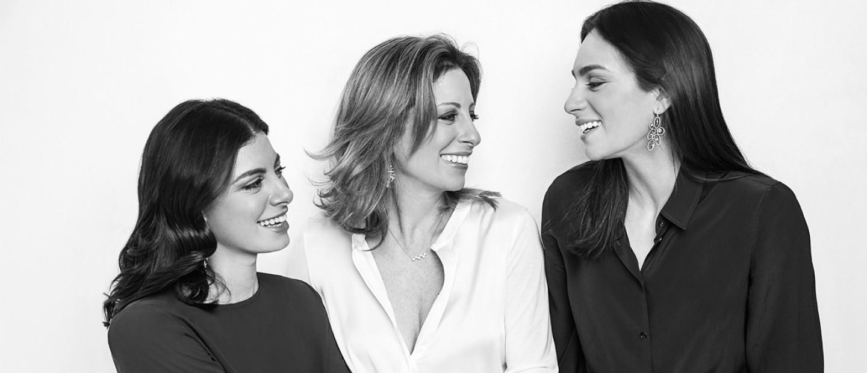 Like mother, like daughter: Μαρία Λαλαούνη, Αθηνά & Λίλα Μπουτάρη Λαλαούνη