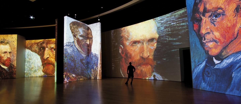 Η έκθεση Van Gogh Alive - the experience στο Μέγαρο Μουσικής Αθηνών
