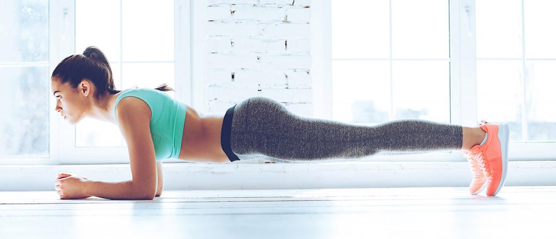 6 εύκολες ασκήσεις για γυμναστική στο σπίτι