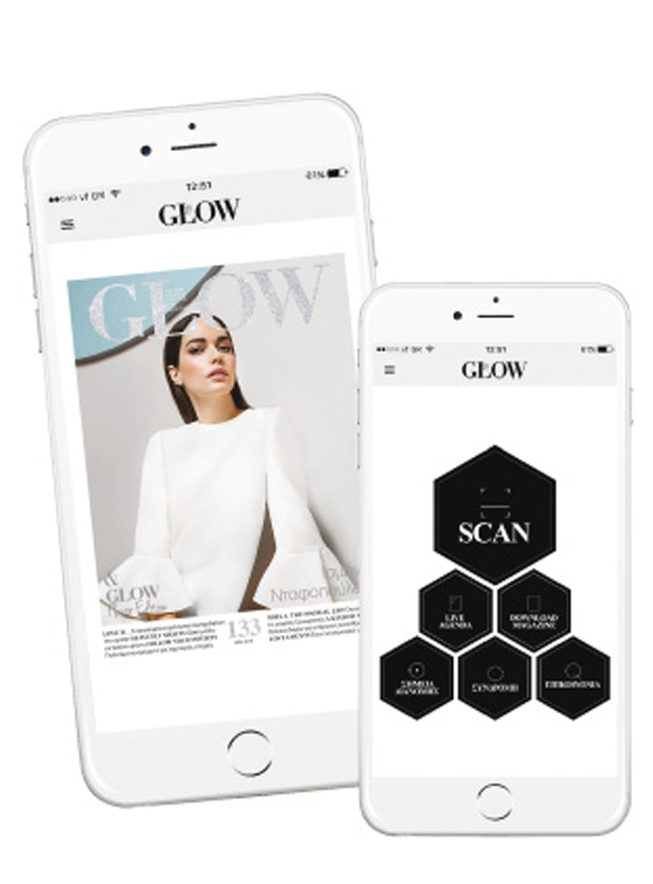 GLOW App - Scan. Discover. Enjoy.