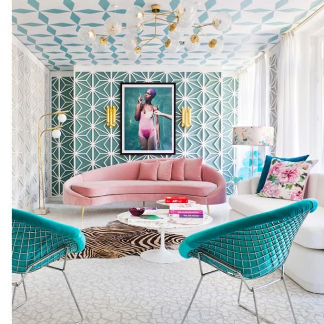 O παραμυθένιος interior κόσμος της designer Miriam Alia