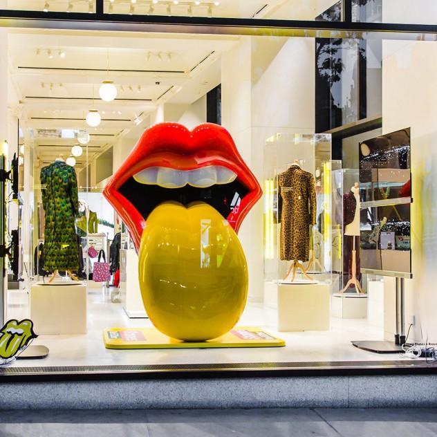 Ενθουσίασε το Rolling Stones Pop Up Store στο Λονδίνο