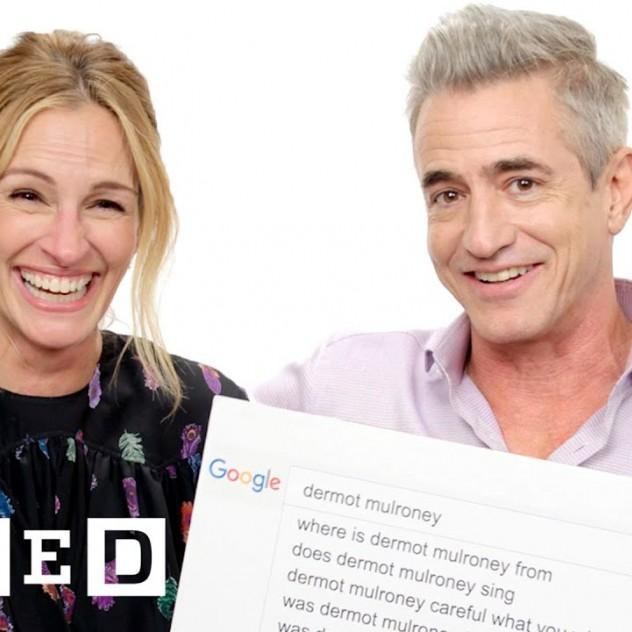 Η Julia Roberts και ο Dermot Mulroney απαντούν στις πιο συχνές ερωτήσεις του Google