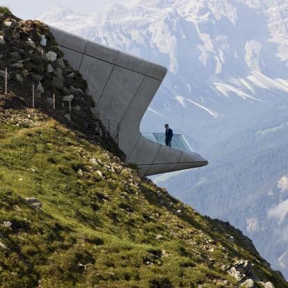 Ένα μουσείο θαμμένο στην κορυφή των Άλπεων
