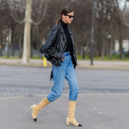 6 Στιλάτοι τρόποι για να φορέσετε το παντελόνι μέσα από τις μπότες