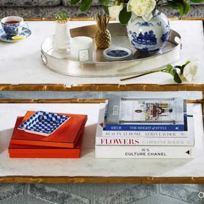 Πώς να διακοσμήσετε το coffee table σας με 3 διαφορετικούς τρόπους