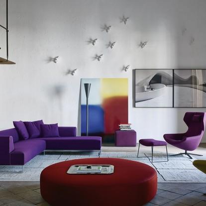 Οι προτάσεις της B&B Italia για το 2018 με έπιπλα σε Ultra Violet χρώμα