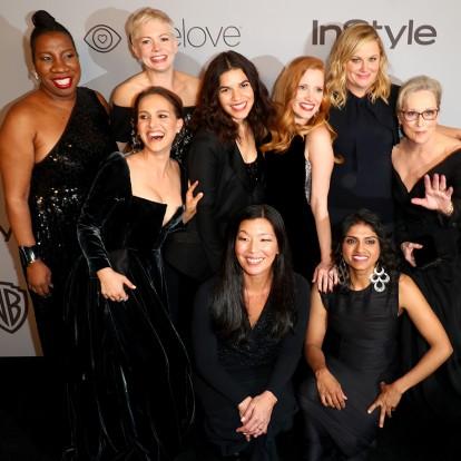 Τι θα απογίνουν τα μαύρα ρούχα των celebrities από τις Χρυσές Σφαίρες