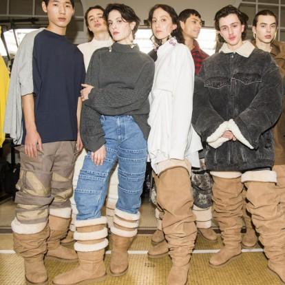 Η Y/project φέρνει τις over the knee Ugg μπότες