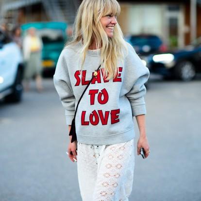 Φορέστε τα χρώματα όπως η fashion editor Jeanette Madsen