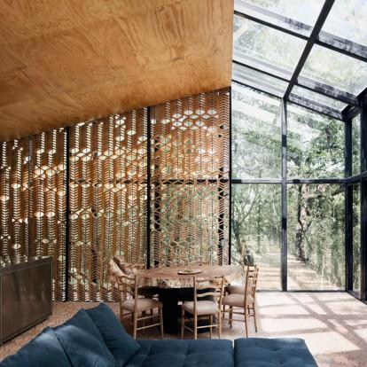 Μια σχεδόν αόρατη εξοχική κατοικία στο δάσος του Monterrey στο Μεξικό