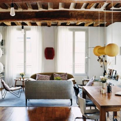 Tι αγαπήσαμε στο ρομαντικό vintage διαμέρισμα της Vanessa Bruno