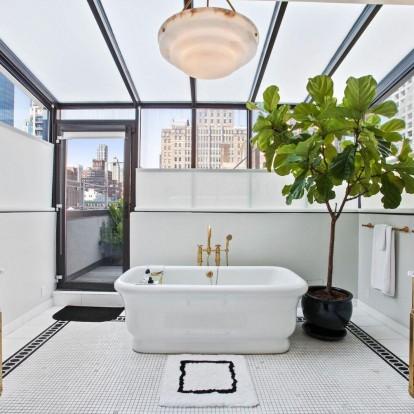 Aπογειώστε την αισθητική του μπάνιου σας με έξυπνες ιδέες
