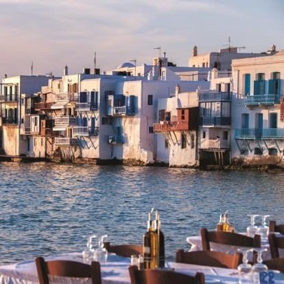 Το Mykonos Muse σας ταξιδεύει στο διάσημο νησί των Κυκλάδων