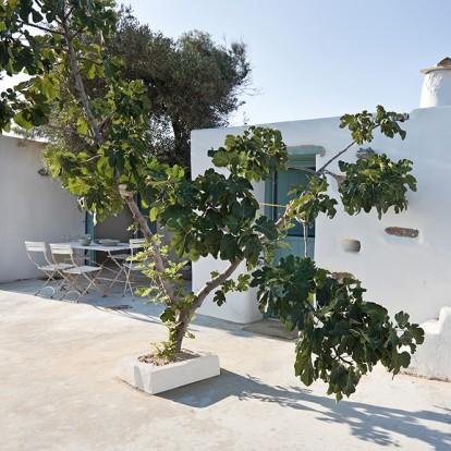 Μια λιτή κατοικία στην Αντίπαρο αναπαλαιώθηκε από τις Vois Architects