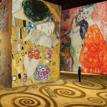 Μια έκθεση σας επιτρέπει να βυθιστείτε στον κόσμο του Gustav Klimt
