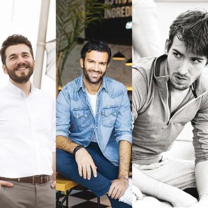 The Male Factor: Γνωρίστε πέντε άνδρες που αγαπάμε